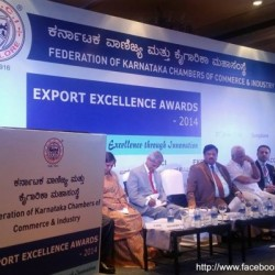 "ISTF at ""EXPORT EXCELLENCE AWARDS 2014"" ceremony"